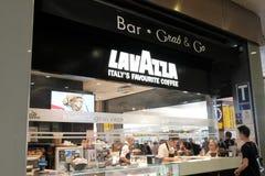 Lavazza咖啡商店 免版税库存照片