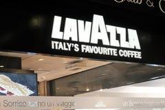 Lavazza咖啡商店 免版税图库摄影