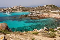 Lavazzi island Stock Image