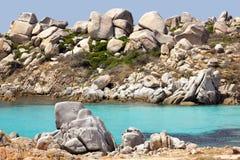 Lavazzi island Stock Photography