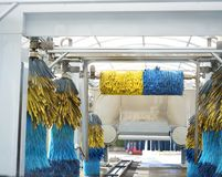 Lave-auto Photographie stock libre de droits