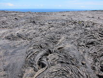 Lave d'Hawaï Photos stock