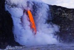 Lave en Hawaï photos stock