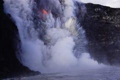 Lave en Hawaï photos libres de droits