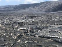 Lave hawaïenne photographie stock libre de droits
