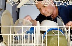 Lave-vaisselle photographie stock