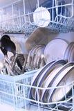Lave-vaisselle Photographie stock libre de droits