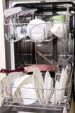 Lave-vaisselle avec les paraboloïdes modifiés photo libre de droits