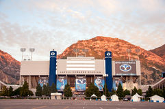 Lavell Edwards Stadium på BYU Brigham Young University Royaltyfri Foto