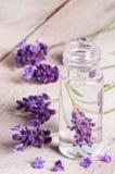 Lavendelöl Lizenzfreie Stockbilder