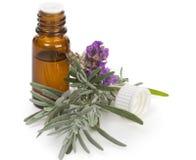 Lavendelöl Lizenzfreie Stockfotografie