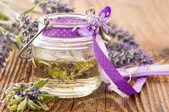 Lavendelöl Lizenzfreies Stockfoto