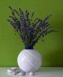Lavendel in de ruimte Royalty-vrije Stock Fotografie