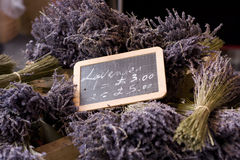 Lavendel für Verkauf Stockfoto