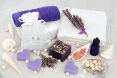 Lavendel Herb Aromatherapy Royalty-vrije Stock Foto's