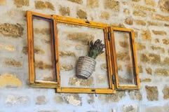 Lavendelbündel im Topf Lizenzfreies Stockbild
