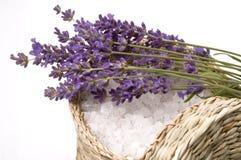 Lavendelbad Lizenzfreies Stockbild