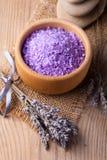 Lavendelbadekurort Stockfotos