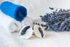 Lavendelbadekurort Lizenzfreie Stockfotografie