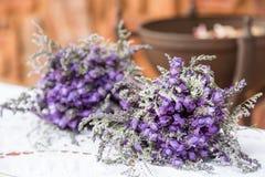 Lavendelblumenstrauß Lizenzfreie Stockfotografie