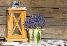 Lavendelblumenstrauß Lizenzfreie Stockfotos