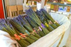 Lavendelbundel Stock Foto's