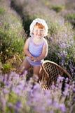 Lavendelfee Lizenzfreies Stockbild