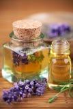 Lavendelkosmetik Lizenzfreies Stockbild