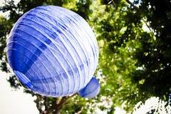 Lavendellantaarn Royalty-vrije Stock Fotografie