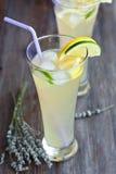 Lavendellimonade Lizenzfreies Stockfoto