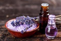 Lavendelolie Royalty-vrije Stock Fotografie