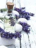 Lavendelolja Royaltyfria Foton