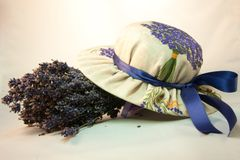 Lavendelprodukter Royaltyfria Foton