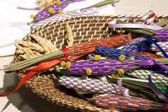 Lavendelregeling stock foto's