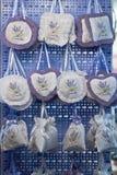 Lavendelsäckchen in Kroatien Stockfotos