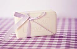 Lavendeltvål Fotografering för Bildbyråer