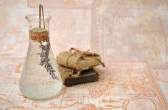Lavendeltvål från hela världen Arkivbild
