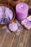 Lavendelzeep Royalty-vrije Stock Fotografie