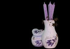 Lavendelzusammensetzung Stockfoto