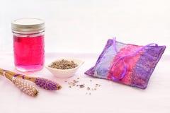 Lavender ζελατίνα Στοκ Φωτογραφίες