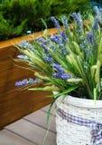 lavender καλαθιών Στοκ εικόνες με δικαίωμα ελεύθερης χρήσης