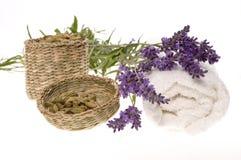 lavender λουτρών στοκ εικόνα