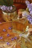 Lavender πετρέλαια Στοκ Εικόνες