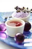 lavender προσοχής σωμάτων Στοκ εικόνα με δικαίωμα ελεύθερης χρήσης