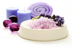 lavender προσοχής σωμάτων Στοκ φωτογραφία με δικαίωμα ελεύθερης χρήσης