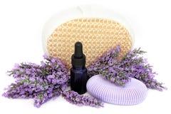 Lavender προϊόντα χορταριών Στοκ Εικόνες