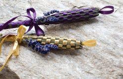 Lavender ράβδοι Στοκ Εικόνες