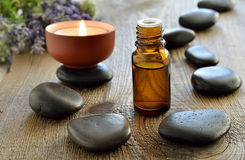 Lavender aroma theraphy Royalty Free Stock Photography