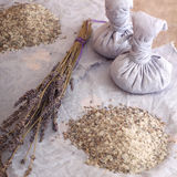 Lavender aromatherapy με  Στοκ Φωτογραφίες