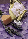 Lavender aromatherapy Royalty Free Stock Photography
